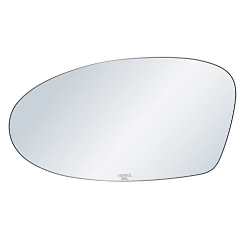 Pontiac Grand Am Mirror Glass - exactafit 8151L Replacement Driver Left Side Mirror Glass Flat Lens fits 99-04 Oldsmobile Alero 02-05 Pontiac Grand Am by Rugged TUFF