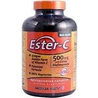 Ester-C 500 mg with Citrus Bio, 240 cap (Pack of 2)