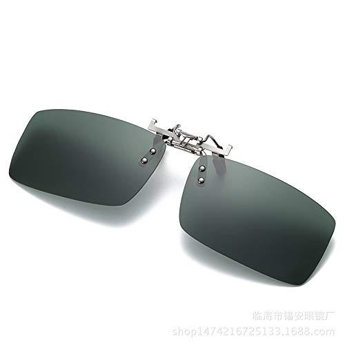 de magnesio UV Clips de Sol Clips Mujeres polarizados con KOMNY y protección D miopía Gafas Aluminio para B Sol de y Hombres B 6 Gafas de wXqEppg