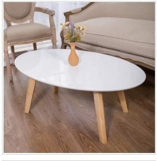 Junxi Furniture Mesas de café Muebles de café Mesa de café Ovalada ...