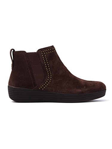 FitFlop Womens Superchelsea Suede Boot w/Studs Chocolate cheap prices reliable free shipping explore 100% authentic cheap price buy cheap extremely great deals online h8HtglPSj
