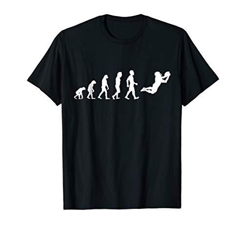 (Evolution Funny American Football Player T Shirt Gift)