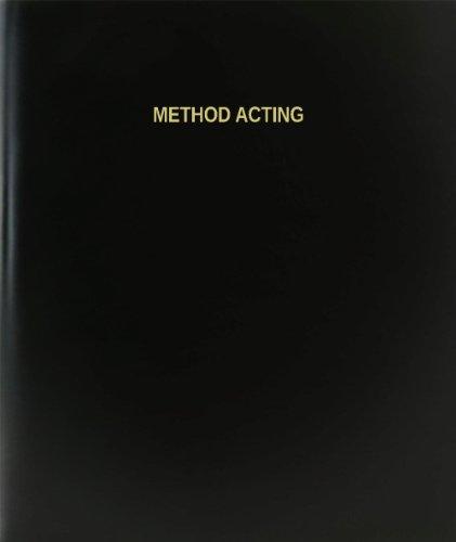 BookFactory® Method Acting Log Book / Journal / Logbook - 120 Page, 8.5