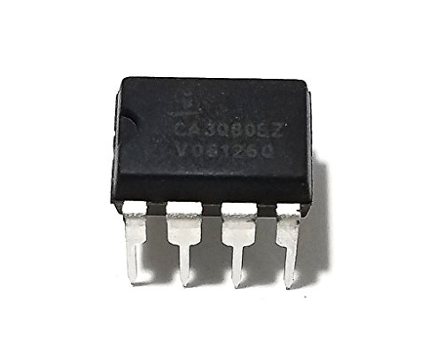 Intersil CA3080EZ High-Performance Operational Transconductance Amplifiers IC (Pack of 4) ()