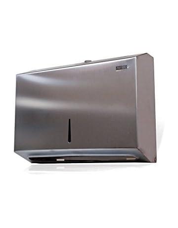 Aviva Clean 205400 dispensador de toallas de papel, acero inoxidable (250 unidades)