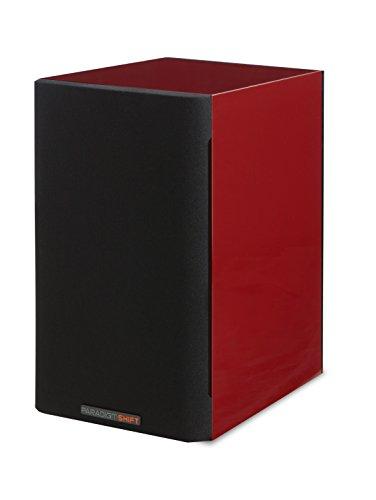 Paradigm Shift A2 Bookshelf Speaker (Vermillion Red Gloss) (Paradigm Shift Speakers)