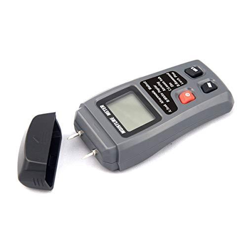 (Moisture Meters Handheld Digital LCD Wood Test Meter for Paper Wood Walls)