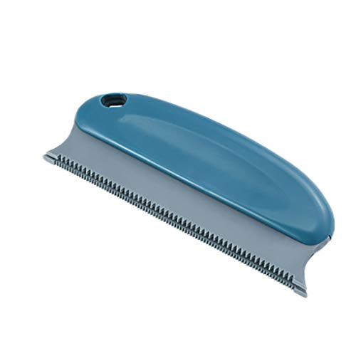 Nesee Brush Duster Artifact Brush Clothes Sticky Hair, Used for pet Hair Removal car Hair Furniture Sticky Hair (Dark Blue)