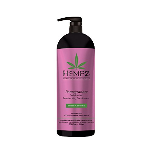 Hempz Hempz moisturizing conditioner, white, pomegranate, 33.8 fluid ounce , 33.8 Ounce