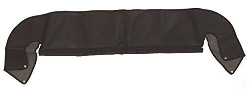 (Outland 391210415 Black Denim Soft Top Storage Boot for Jeep YJ/TJ)
