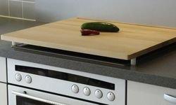 Unbekannt Helo Kitchen / Cooker Worktop 64 X 56 Cm Oiled Beechwood