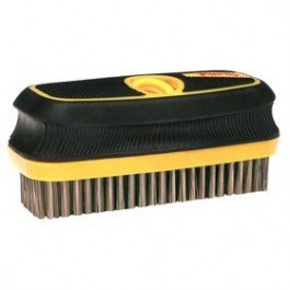 Paint Brush Comb, Black, Wire