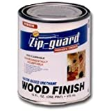 Star Bronze 3766 Zip-Guard Urethane Wood Finish Water Based Interior Gloss Clear, 1 quart by Star Bronze