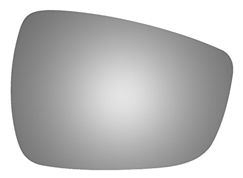 Mirror Hyundai Side Accent - Burco 5586 Convex Passenger Side Power Replacement Mirror Glass for 2013-2017 Hyundai Accent, 2014-2017 Hyundai Elantra, 2014-2017 Hyundai Elantra GT, 2014-2017 Hyundai Veloster