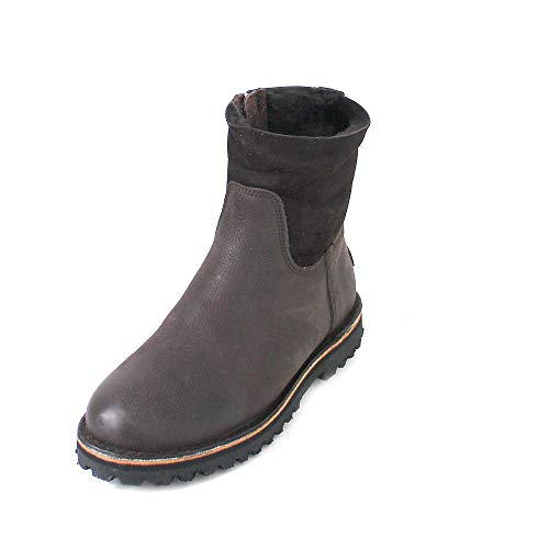Boots Women's Brown Shabbies dark Amsterdam Brown Slouch aqgxAtw