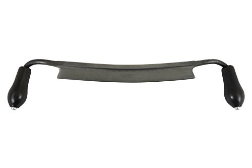 """Narex 890503 280 mm 11"""" Curved Blade Drawknife Cr Steel 55 HRc. Overall Length 19"""" by Narex (Image #5)"""