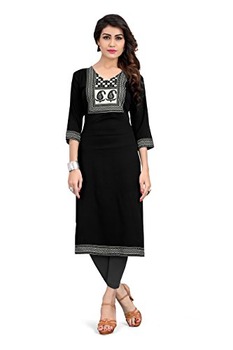 BombayFashions T213XL Indian Tunic Top Womens Kurti Printed Blouse India Clothing