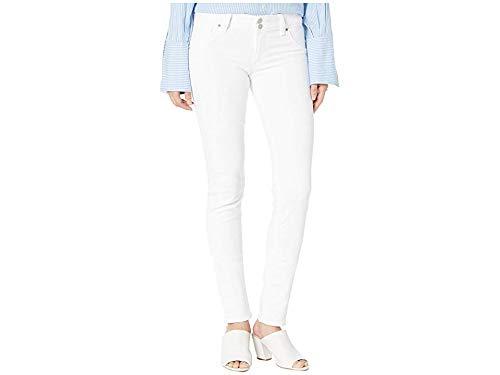 (Hudson Jeans Women's Collin Midrise Skinny Flap Pocket Jean, White, 30 )