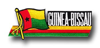 Guinea-Bissau - Country Flag Patch