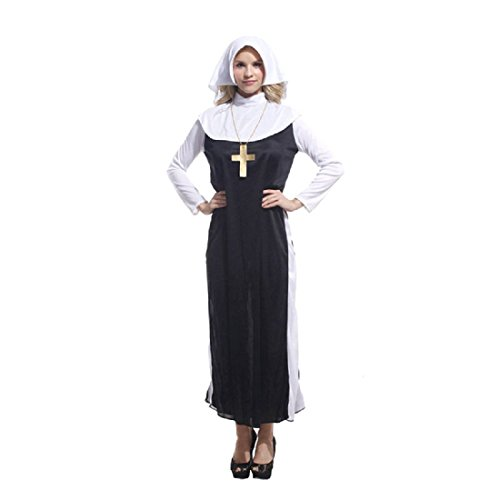 [Merrysky Women's Missionaries show Ministry Dress Up Role Play Costumes freesize] (Missionary Costumes)