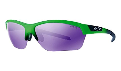 - Smith Optics Approach Max Sunglasses, Reactor Green Frame, Purple Sol-X Ignitor Carbonic TLT Lenses