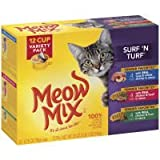 Meow Mix Surf 'N Turf Variety Pack Cat Food – 12 CT Review