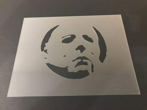 Michael Myers #1 Stencil Pumpkins, Halloween, Friday The 13th, Airbrush
