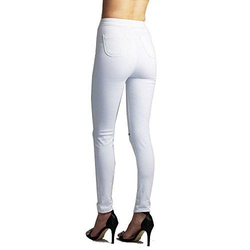 919 Donna 16 Jeans Divadames white twq0xX