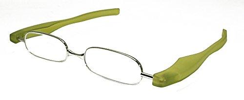 시니어 글래스 안경 돋보기 포드리더 스마트 PodReader SMART 그린 +3.00