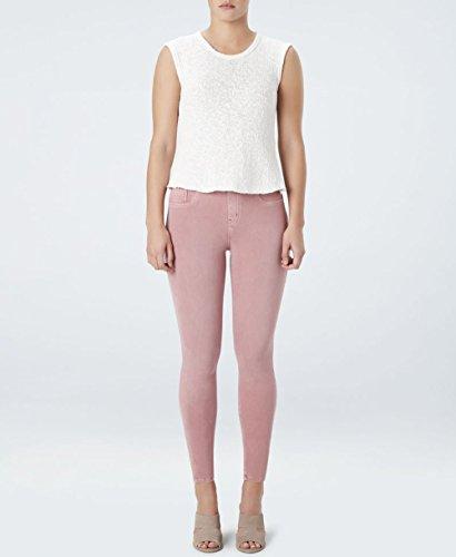 (SPANX Women's Jean-ish¿ Ankle Leggings (Large, Rose Blush))