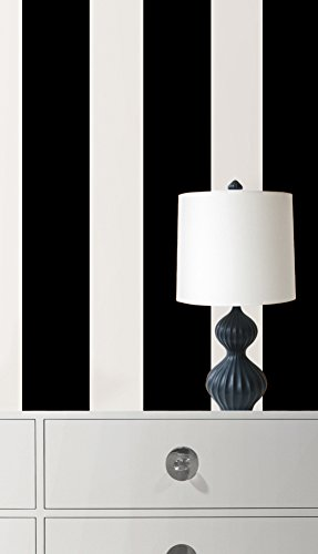 Black Jack Stripe Wall Decal Sticker 7 x 192in (Black Wall Decals compare prices)