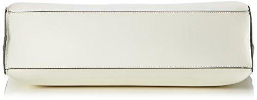 Armani 9222107P772, Borsa shopper Donna Beige (Offwhite 41610)