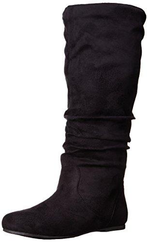 Calf Black Women's Boot Slouch Brinley Wide 02wc Co Brinley pHR8zSp