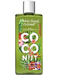 - Bath & Body Works Waikiki Beach Coconut Shower Gel, 8 Ounces