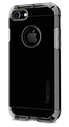 Cheap Cases Spigen Tough Armor iPhone 7 Case with Jet Black Optimized Color and..