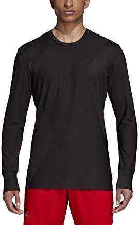 adidas performance - Barricade men's tennis long-sleeved top (black) - S