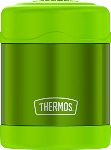 (Thermos Funtainer 10 Ounce Food Jar, Lime Green)