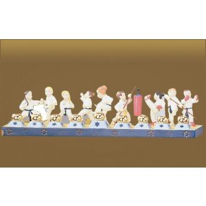 Children's Karate Menorah