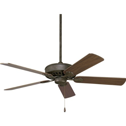 80 Airpro Ceiling Fan (Progress Lighting P2503-46 52-Inch Performance Fan with 5 Blades and 3-Speed Reversible Motor, Weathered)