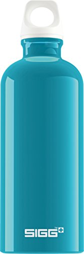 Sigg Fabulous Water Bottle, Aqua, 0.6-Liter