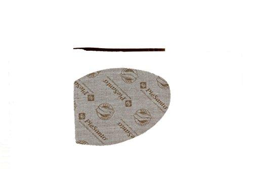 ancho 1155 confort Piesanto Extraíble Sandalia cómodo de Calzado piel Visón Plantilla mujer qTXWFvy7wx