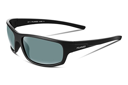 FEISEDY Polarized Sports Sunglasses Golf Driving Running Cycling Sun Grasses - Sunglasses Review Running