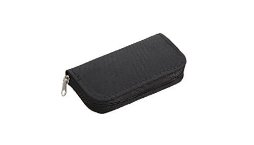 (BlastCase 22 Slots Cell Phone CF SD Memory Card Carrying Case Bag(Black))