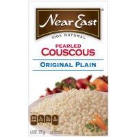 Near East Original Plain Pearled Couscous, 6 Ounce - 12 per case.
