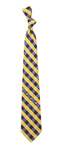 Nashville Predators Check Polyester Neck Tie NHL Hockey Team Logo