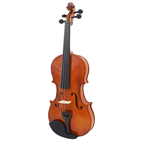 MagiDeal 4/4 Size Solid Wood Violin Set with Rosin Bow Case for Beginner Practice by non-brand