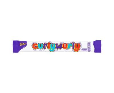 Cadbury Curly Wurly Chocolate Bar (26g x 24) Curly Wurly Chocolate Bar