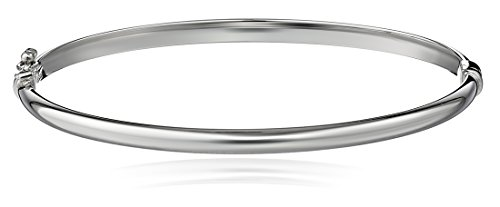 e Bracelet (White Gold Bangle)