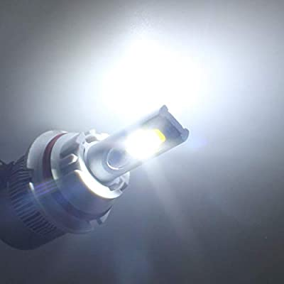CK Formula 9004 HB1 LED Headlight Bulb C6 6000K White Light Bright LED Headlights LED Bulb 80W 8000 Lumens Headlight Bulb High & Low Beam LED Headlight Bulb LED Headlights CREE COB LED Lights for Cars: Automotive