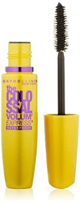 Maybelline New York The Colossal Volum' Express Waterproof Mascara, 0.27 Fluid Ounce